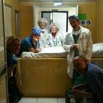 2011 OR Team. Mary (back, center) is a general helper who has performed instrument sterilization on many missions.